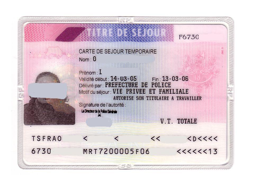 carte de séjour temporaire vie privée et familiale Formation SFSL 23 novembre ppt video online télécharger