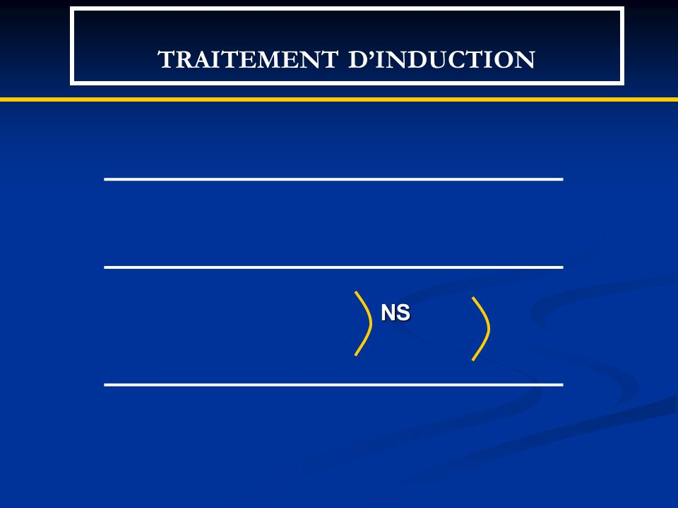 TRAITEMENT DINDUCTION NS NS