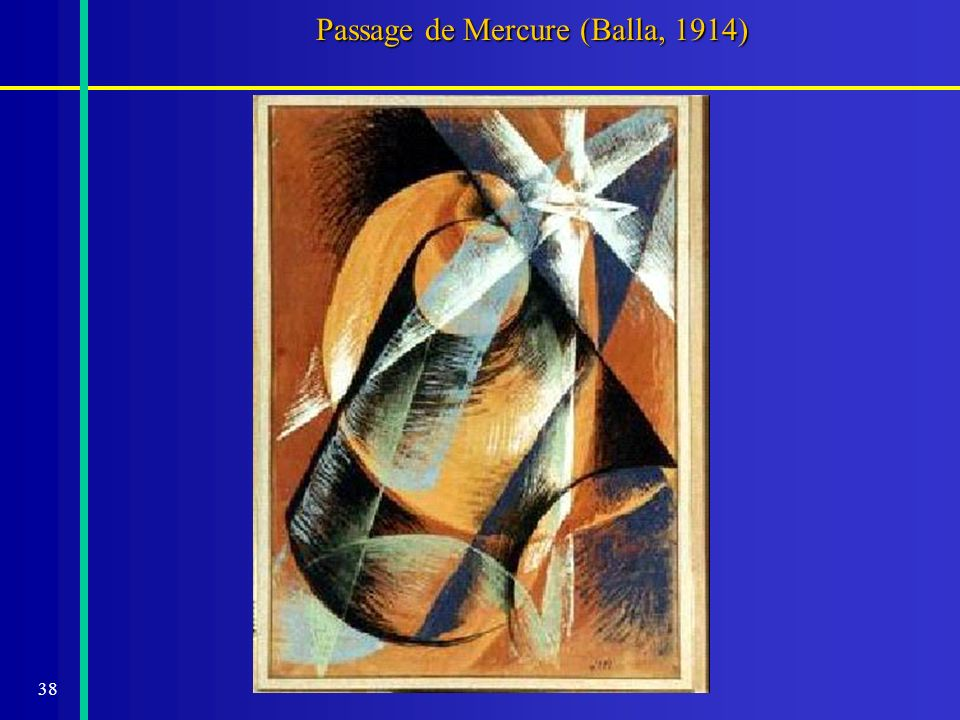 38 Passage de Mercure (Balla, 1914)