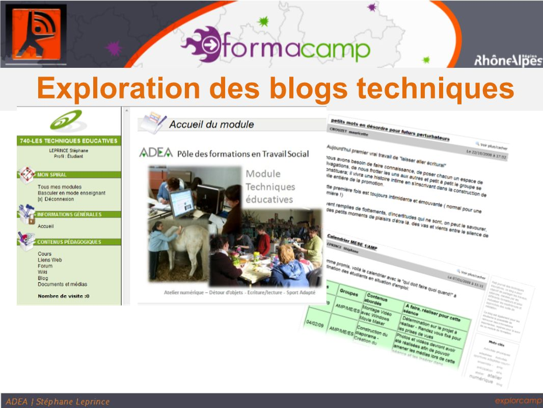 Exploration des blogs techniques
