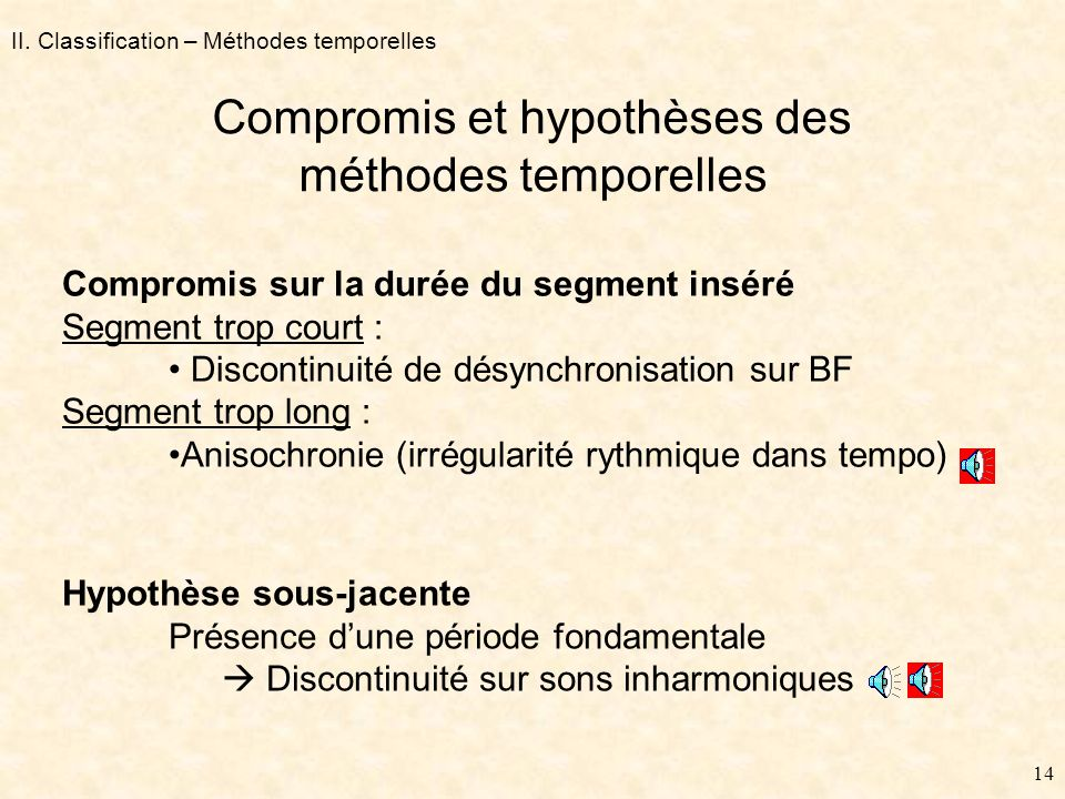 13 Méthodes temporelles « adaptatives » duplication II.