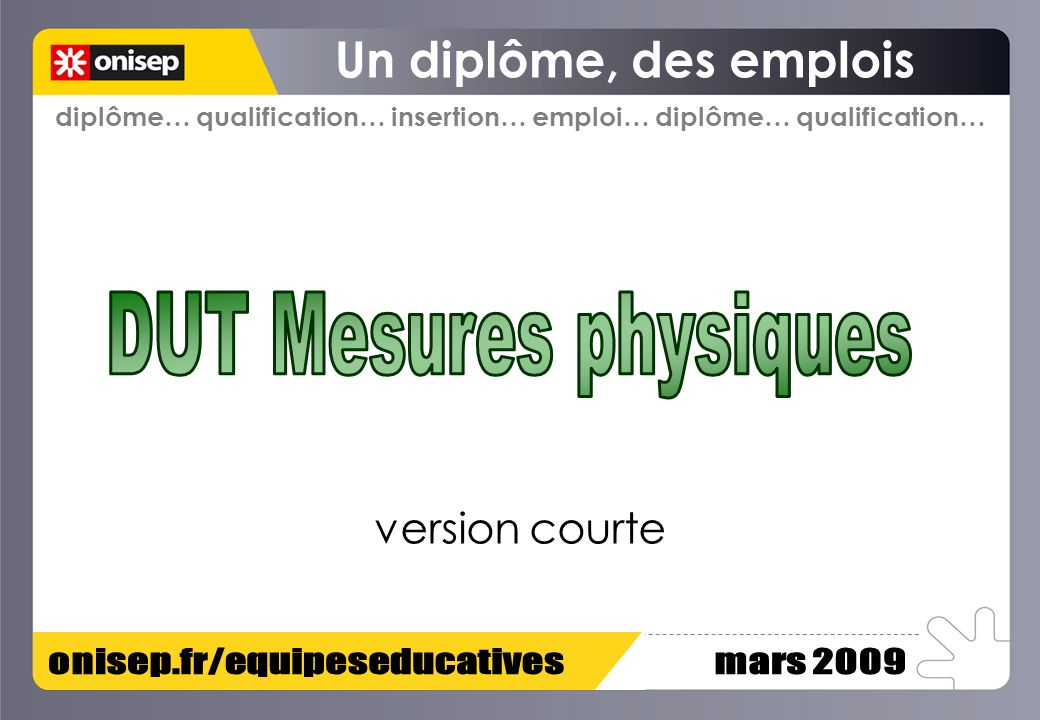 diplôme… qualification… insertion… emploi… diplôme… qualification… version courte