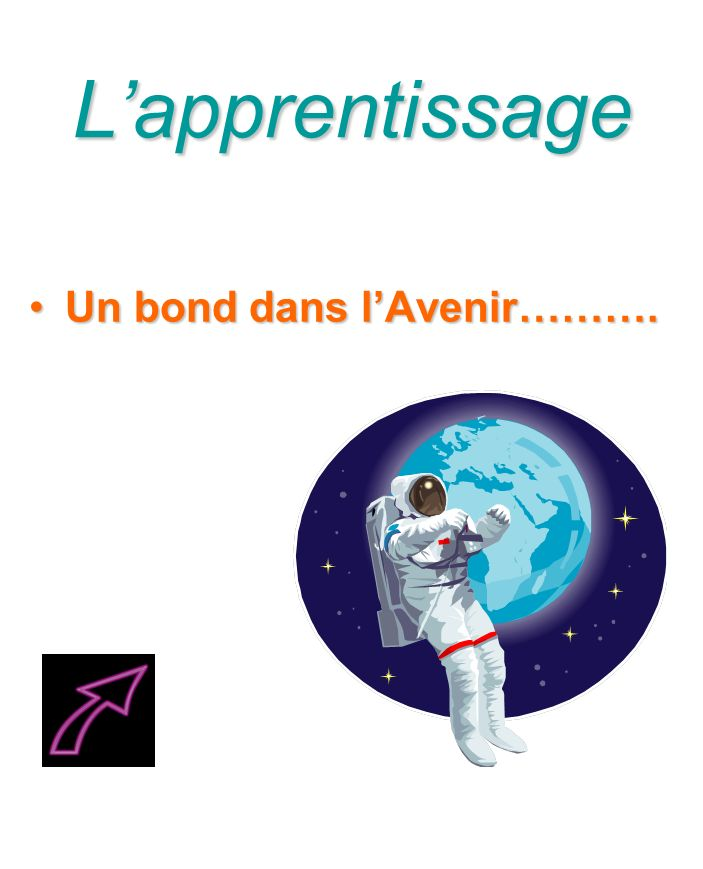 Lapprentissage Un bond dans lAvenir……….