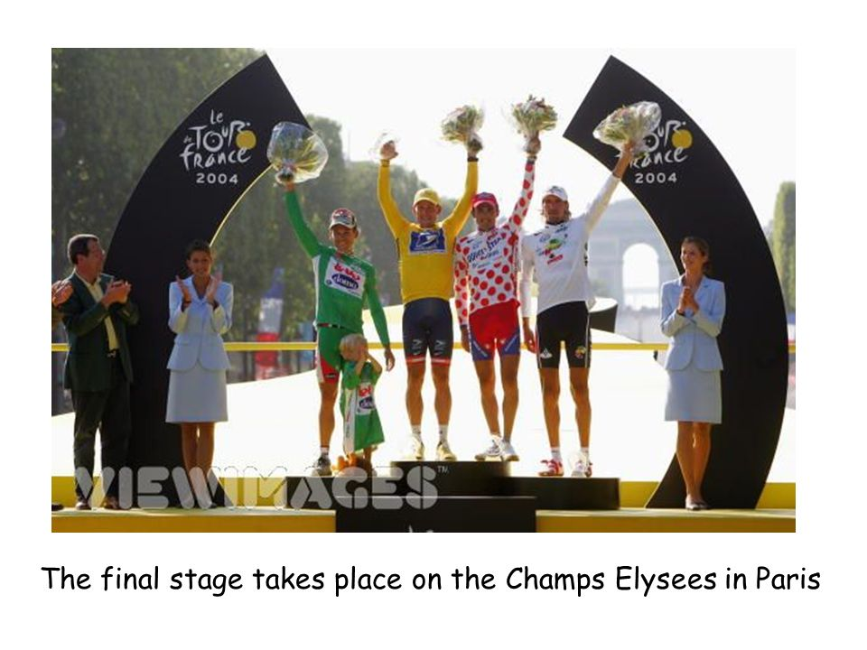 The final stage takes place on the Champs Elysees in Paris