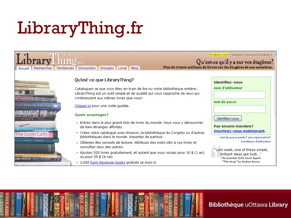 LibraryThing.fr