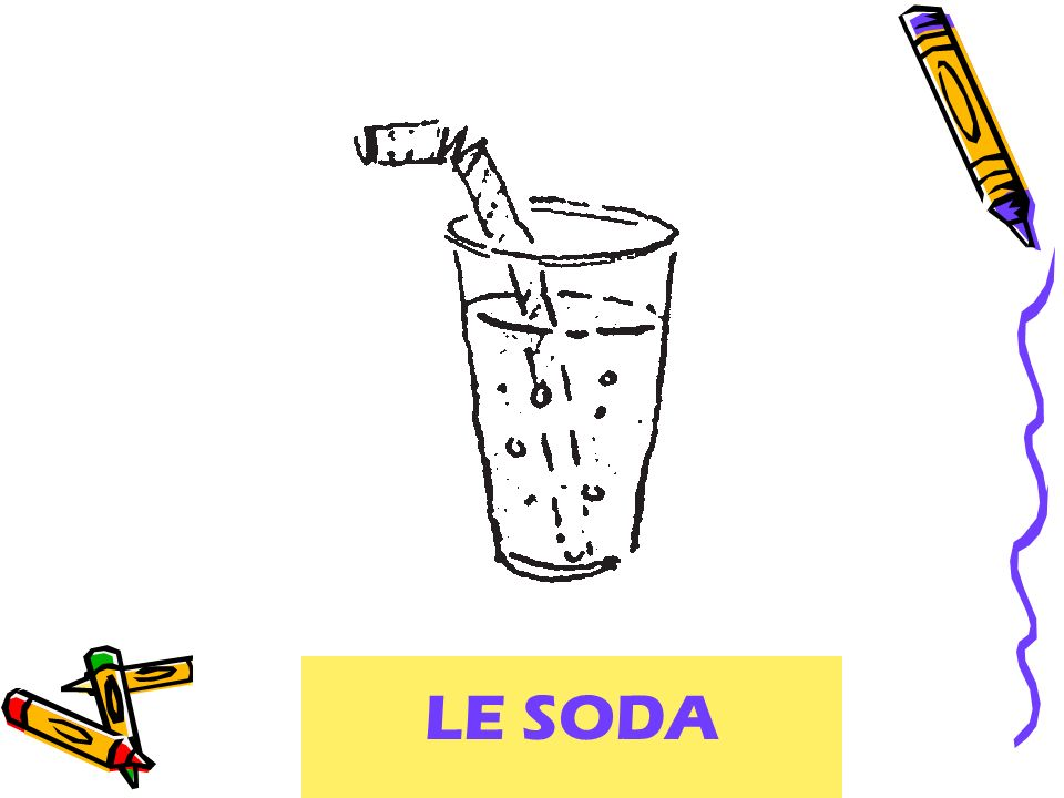 soft drink LE SODA