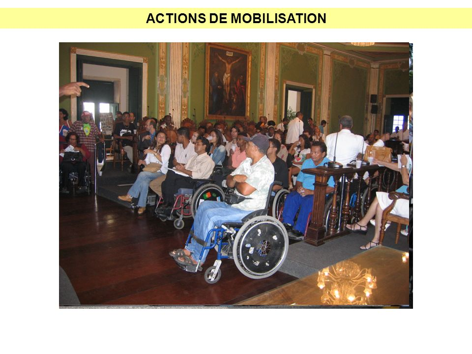 ACTIONS DE MOBILISATION