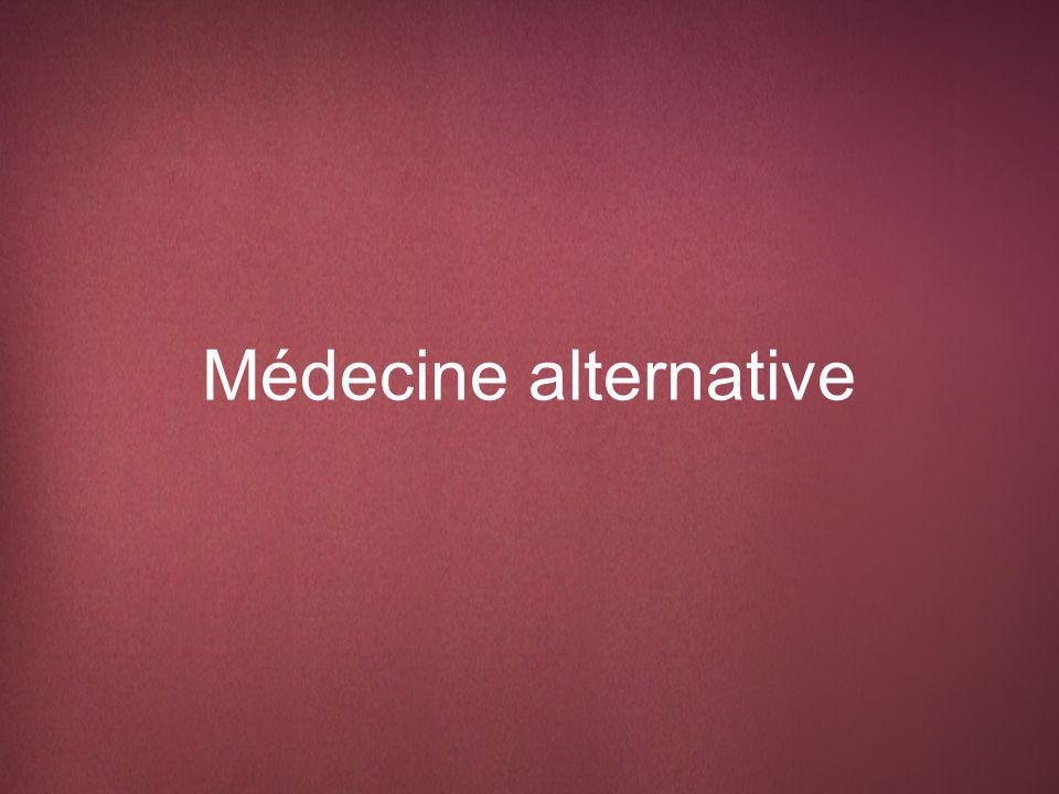 Médecine alternative