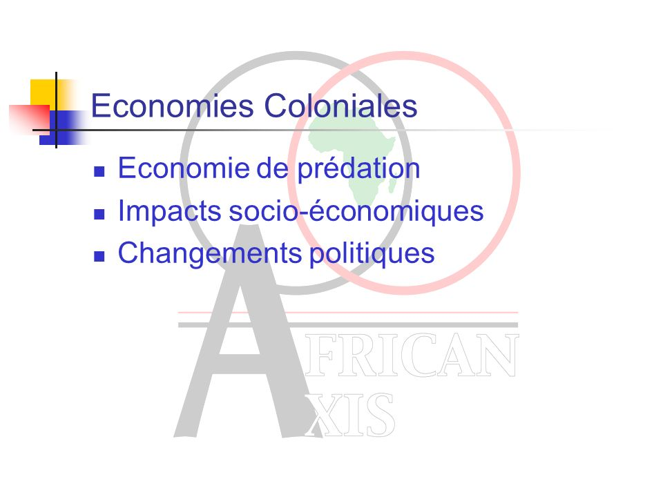 Modes dadministration des colonies Direct rule ou administration directe Indirect rule ou administration indirecte