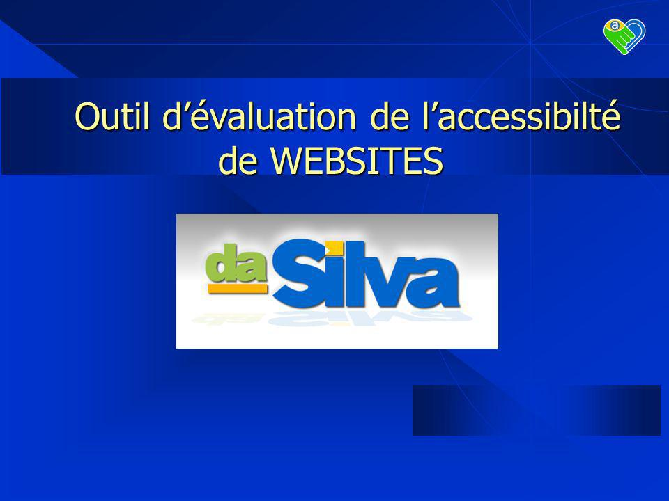 Outil dévaluation de laccessibilté de WEBSITES