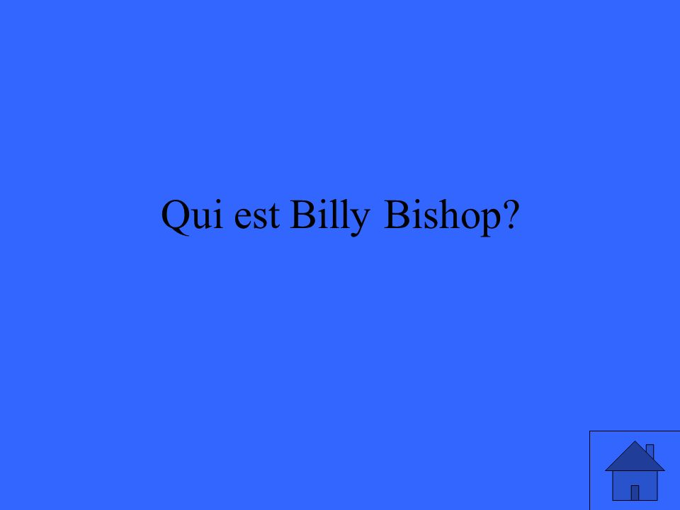 Qui est Billy Bishop