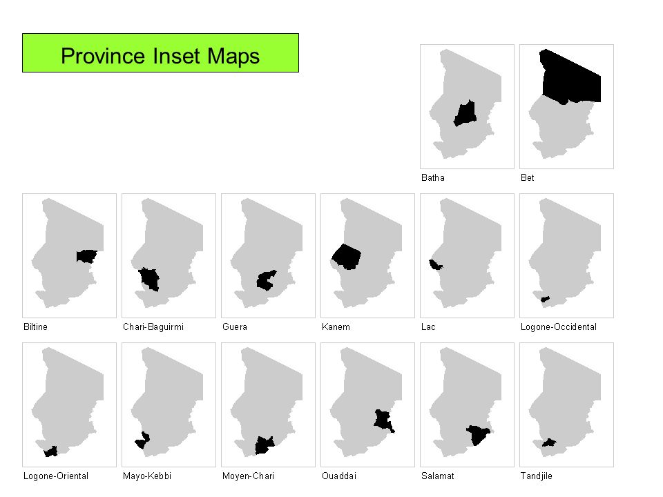 Province Inset Maps