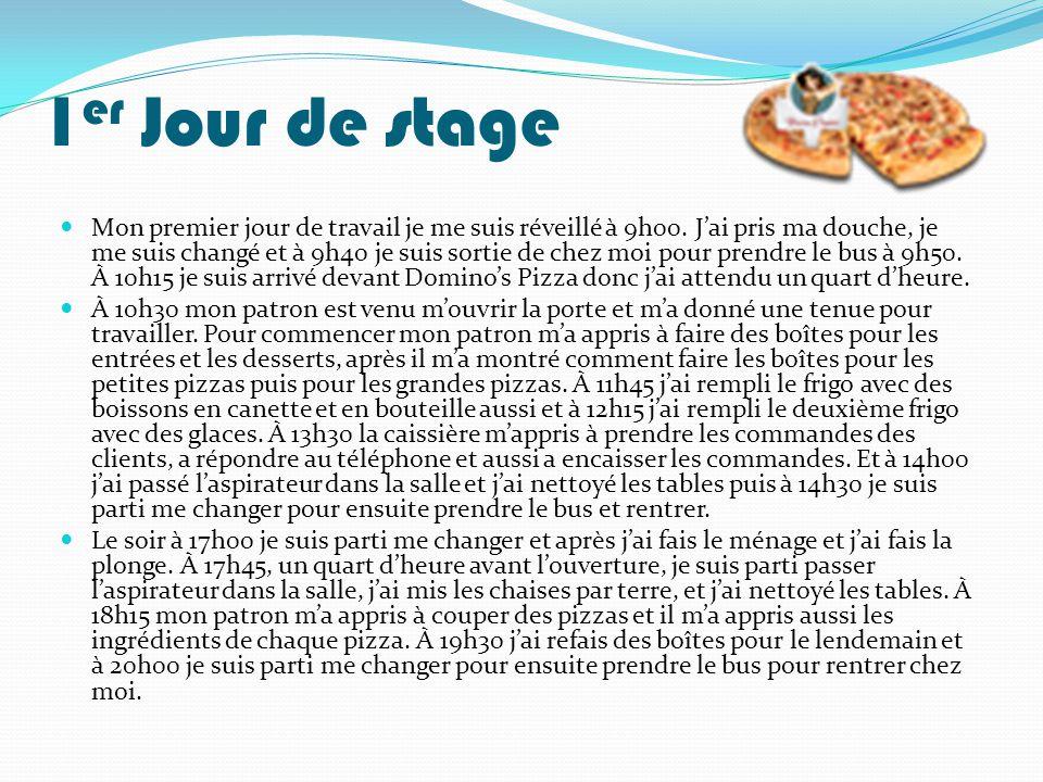 Exemple Rapport De Stage En Cuisine Document Online