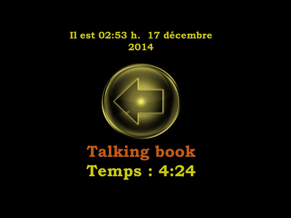 Il est 02:55 h. 17 décembre 2014 I was made to love her Temps : 2:30