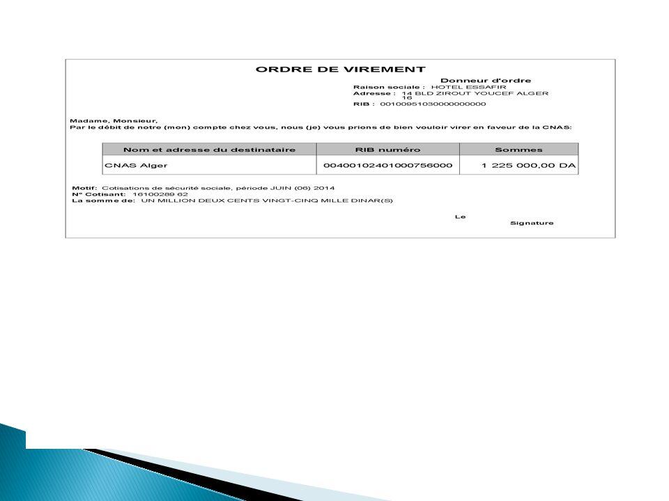DECLARATION CNAS COTISATION PDF FORMULAIRE ALGERIE DE GRATUIT TÉLÉCHARGER