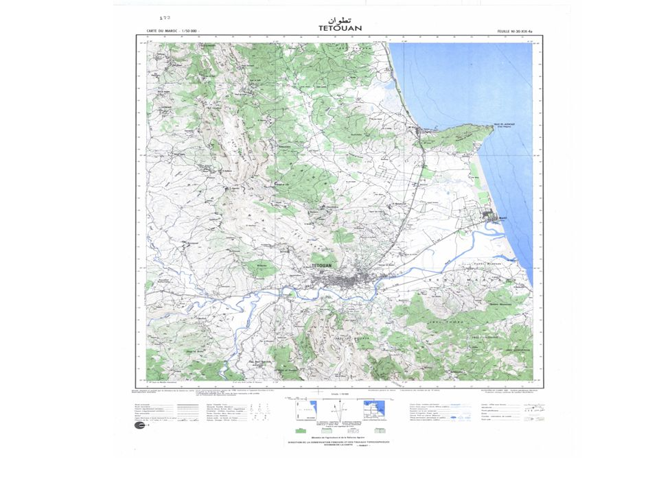 La Carte Topographique Du Maroc
