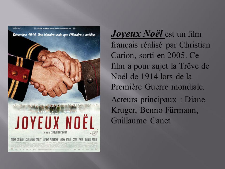 Film Joyeux Noel De Christian Carion.Joyeux Noel Bande Annonce Du Film Et D Autres Documents