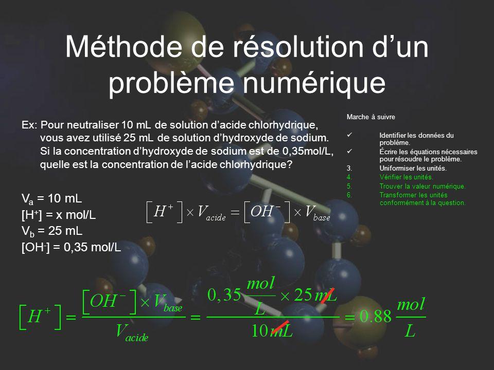 La neutralisation. C est la réaction pour laquelle un acide ou une ... 3dd0263a530