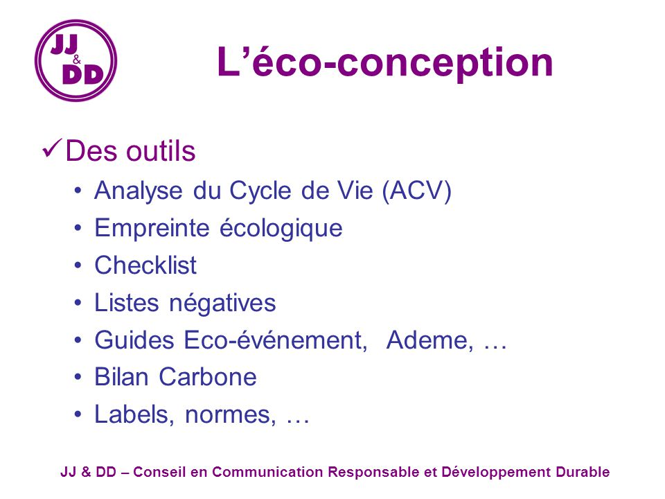 communication eco responsable