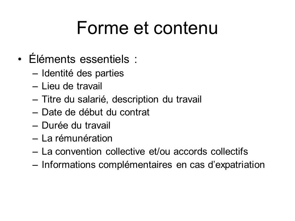 Contrat De Travail Contrat De Travail Definition Il Y A Contrat