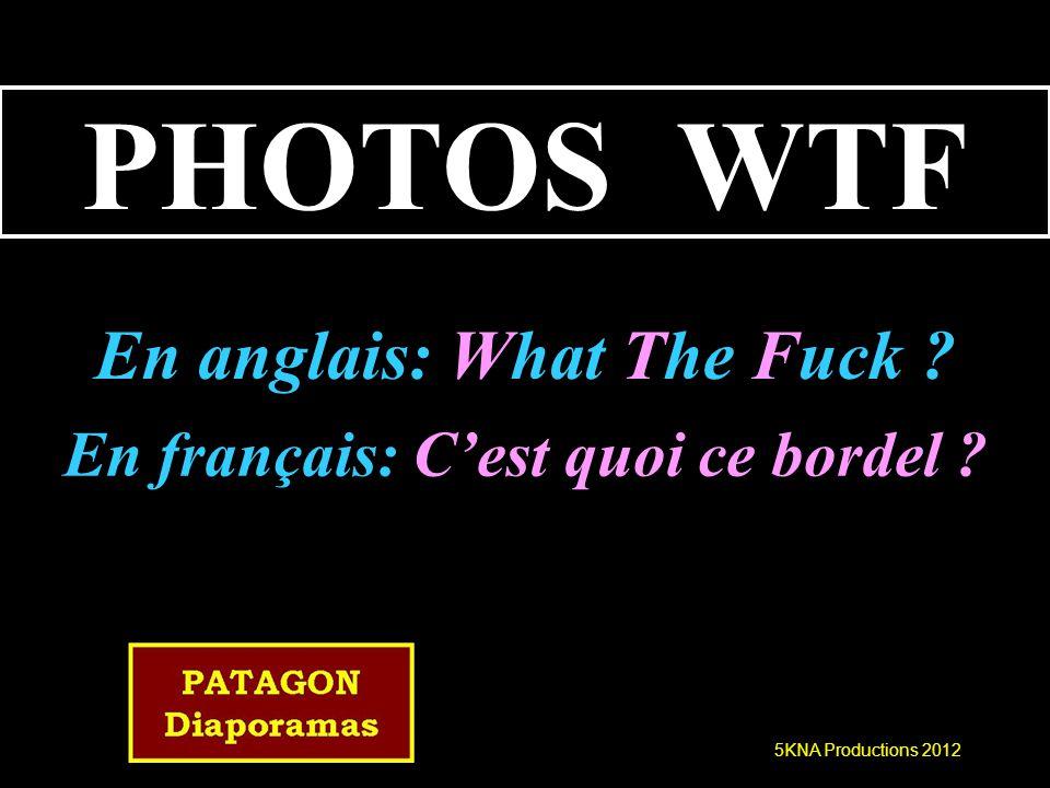Photos Wtf 5kna Productions 2012 Photos Wtf En Anglais What The