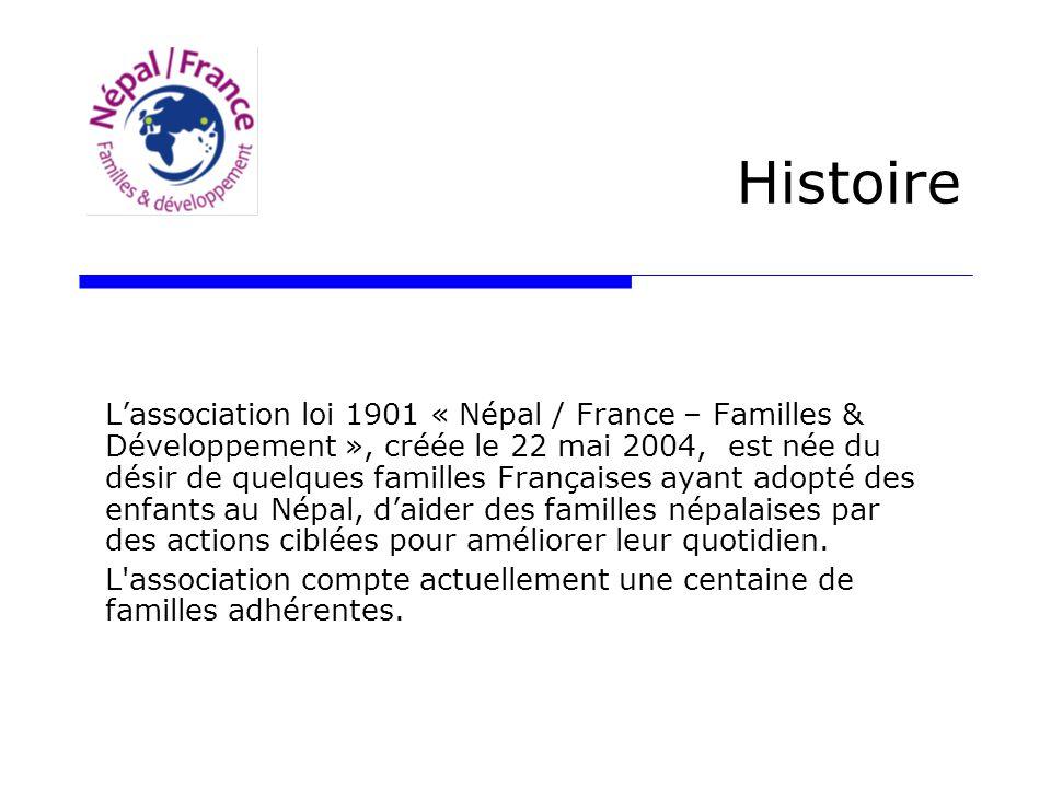Histoire L Association Loi 1901 Nepal France Familles