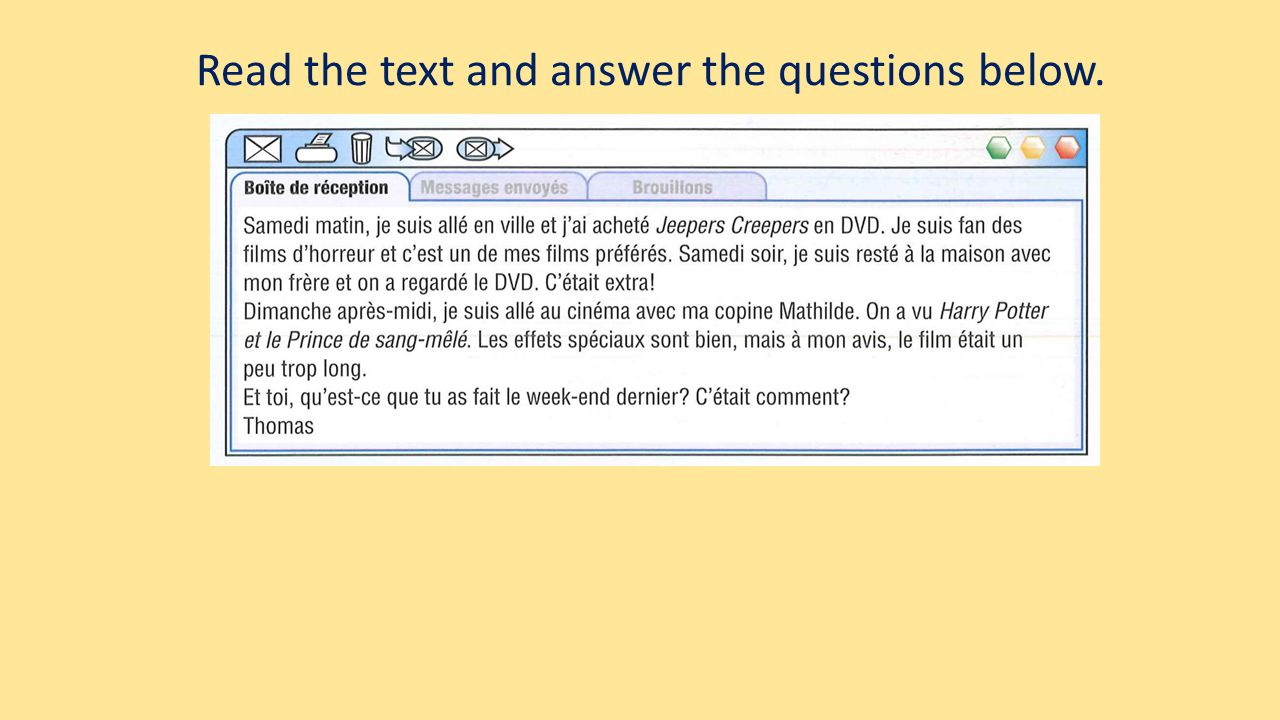Read the text and answer the questions below.