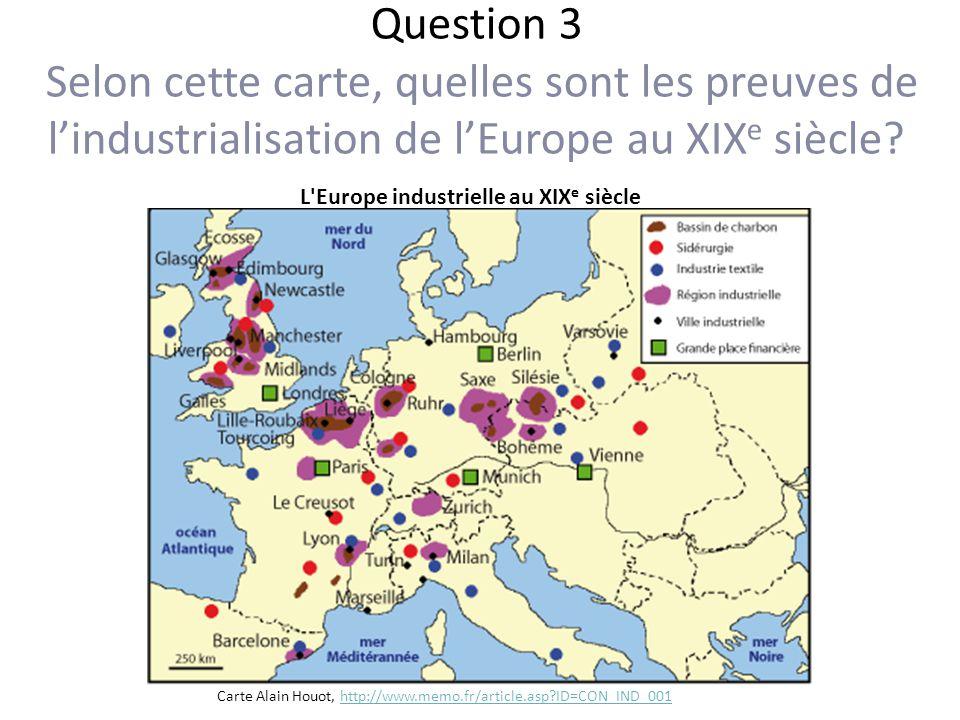 Carte De Leurope Industrielle Au Xixe Siecle.Retour Sur Les Concepts Anterieurs Premier Concept Ppt