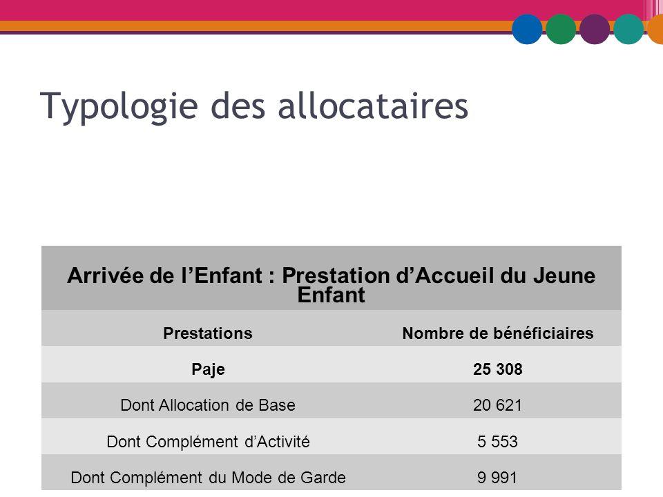 Paje Les Evolutions De Quelques Chiffres Activite Typologie Des