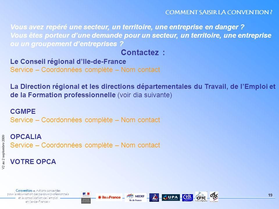 Convention Actions Concertees Pour La Securisation Des Parcours