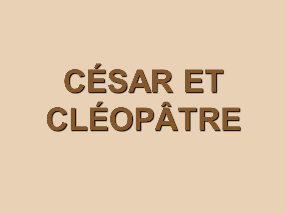 premiere rencontre entre cleopatre cesar