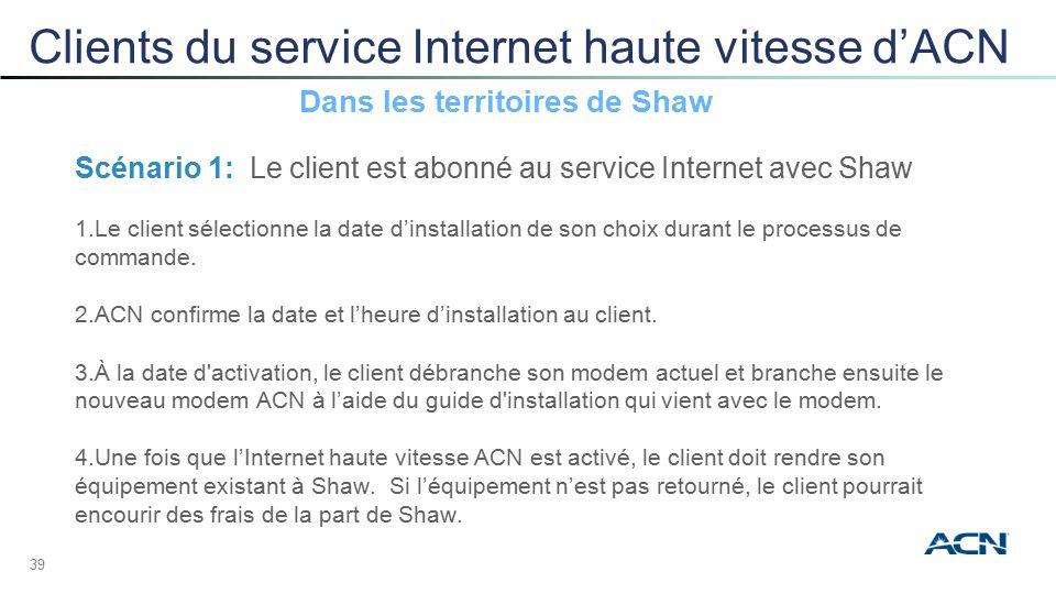 Internet haute vitesse d'ACN & Internet haute vitesse d'ACN + Voix