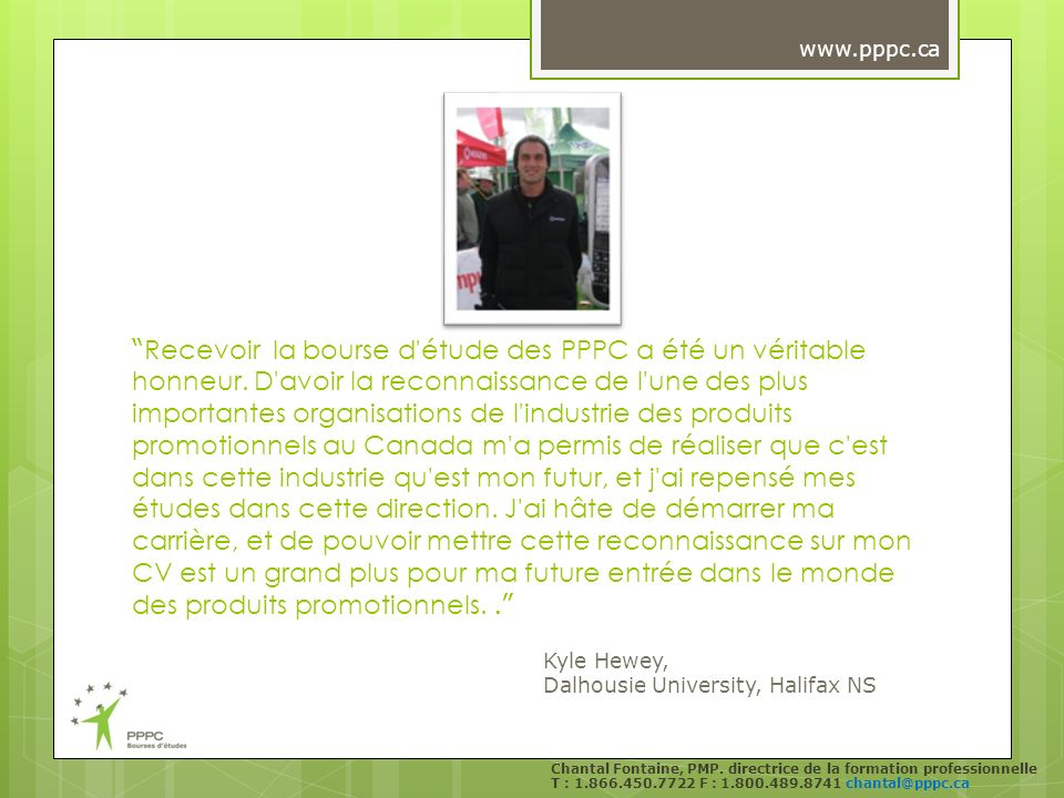 Chantal Fontaine, PMP.