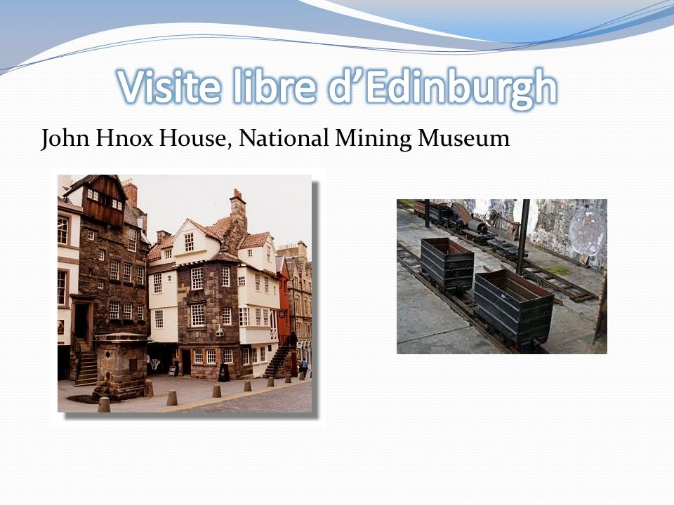 John Hnox House, National Mining Museum