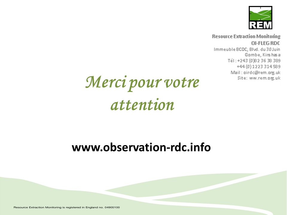 Merci pour votre attention www.observation-rdc.info