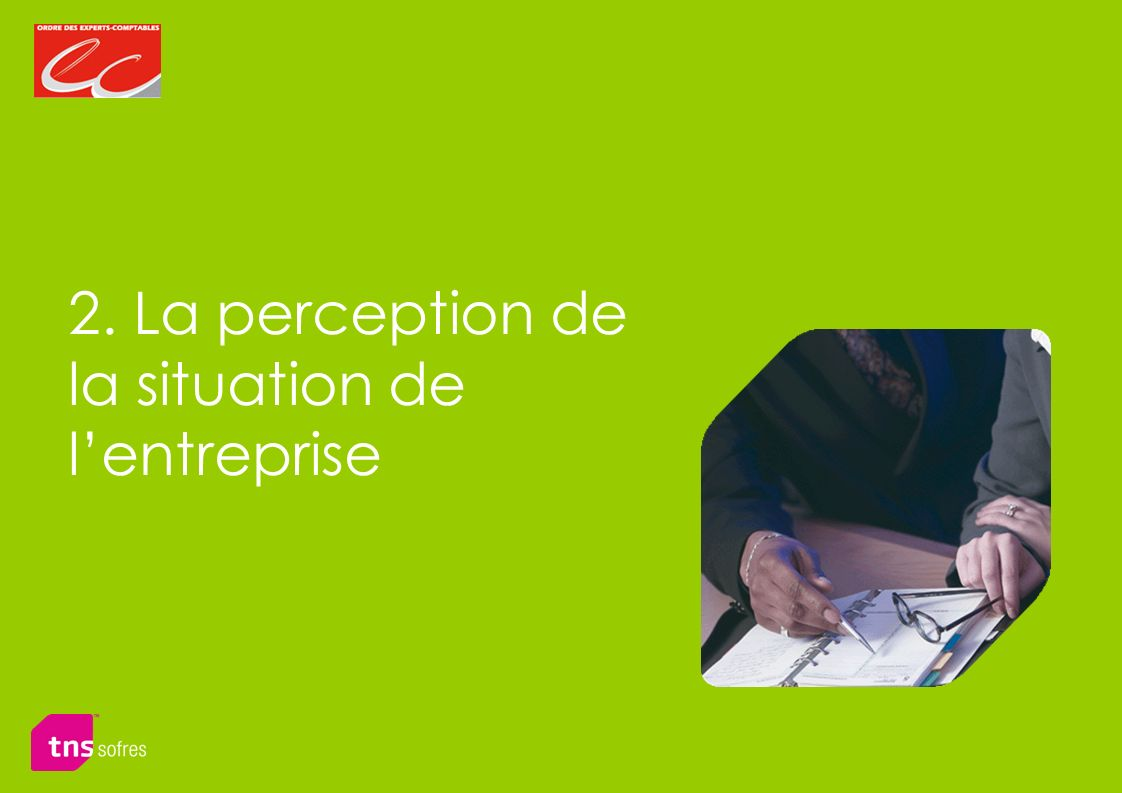 2. La perception de la situation de lentreprise