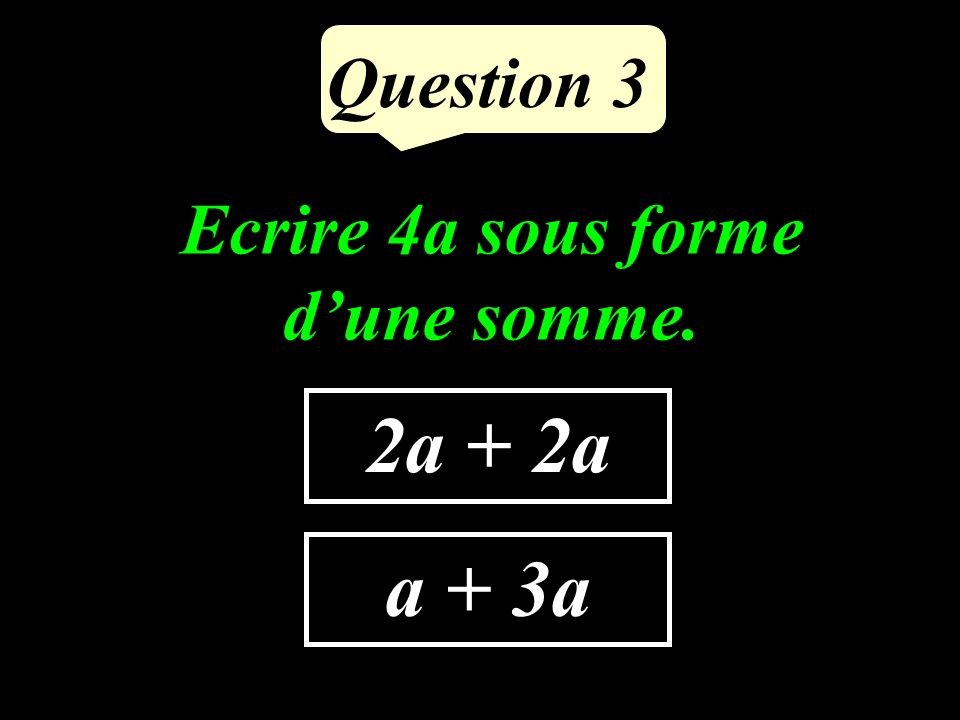 Question 2 14 – 35 - 49 Cite trois multiples de 7.
