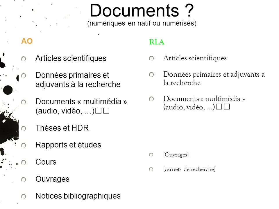 Documents .