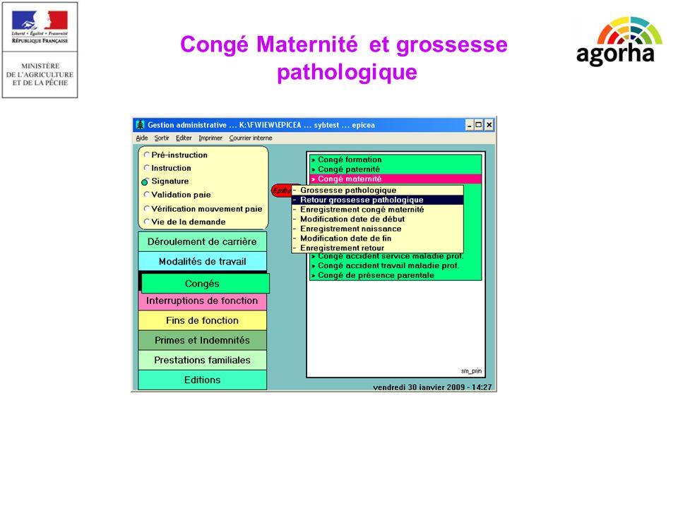 Conge Maternite Beneficiaires Agent Fonctionnaire Stagiaire Agent