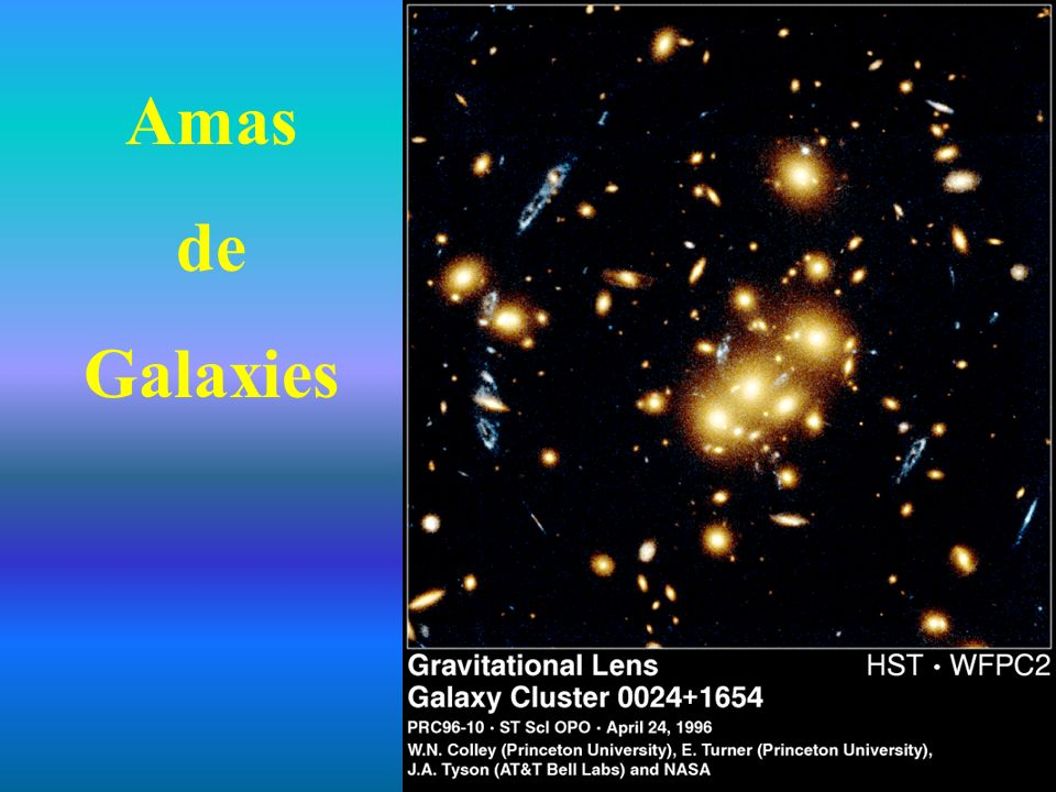 Amas de Galaxies