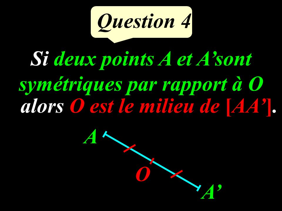 Question 3 Calculer : 4 2 = =