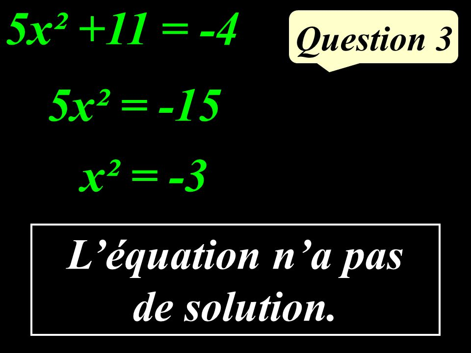 Question 2 Dans les conditions de la propriété de Thalès, calculer MQ.