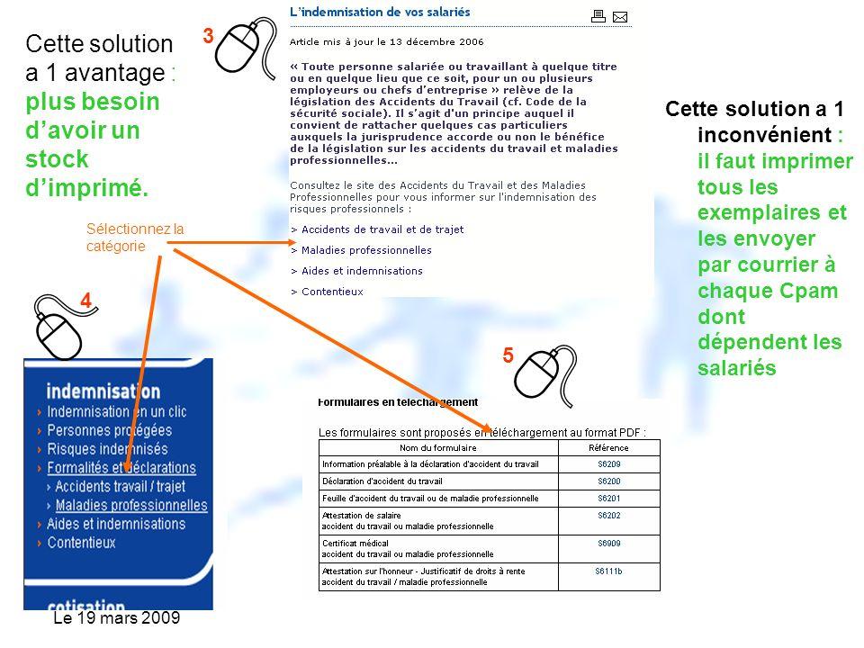 Le 19 Mars 2009 Caisse Dassurance Maladie De Seine Et Marne