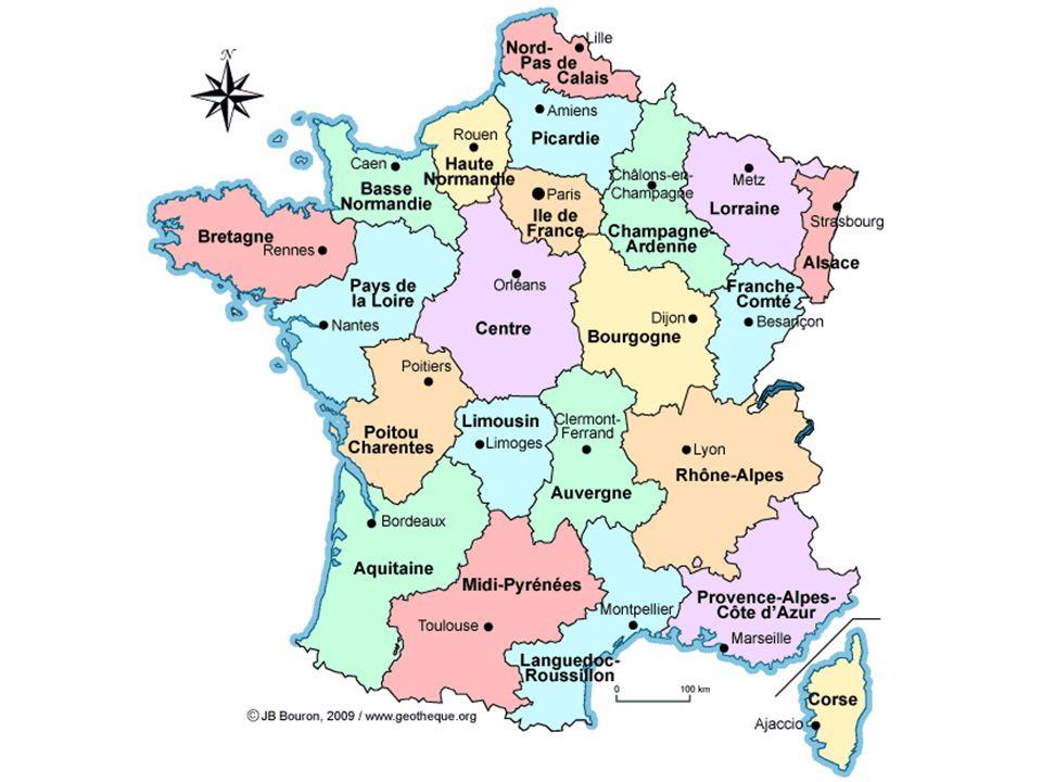 La France Metropolitaine Et Ses 22 Regions Ppt Telecharger