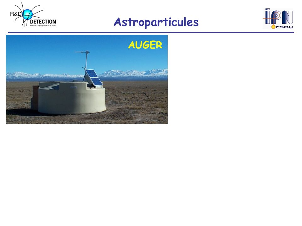 Astroparticules AUGER