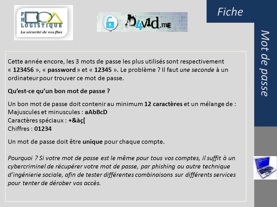 9befc9c82bf Mot de passeFiche Les mots de passe Le contenu de ce document est ...