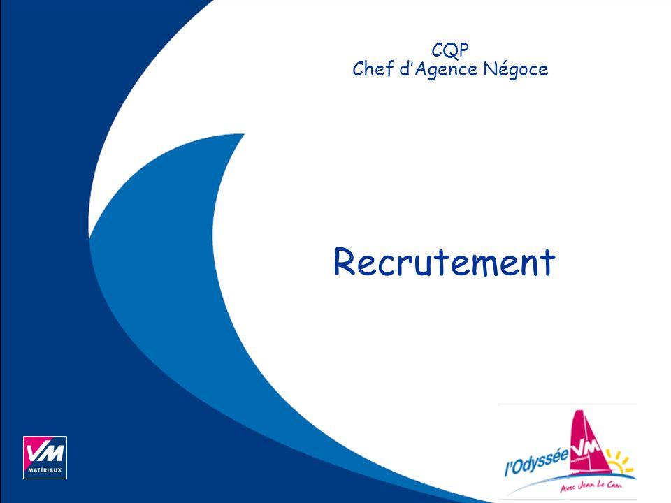 Recrutement Cqp Chef D Agence Negoce Page 2 Programme Du 10