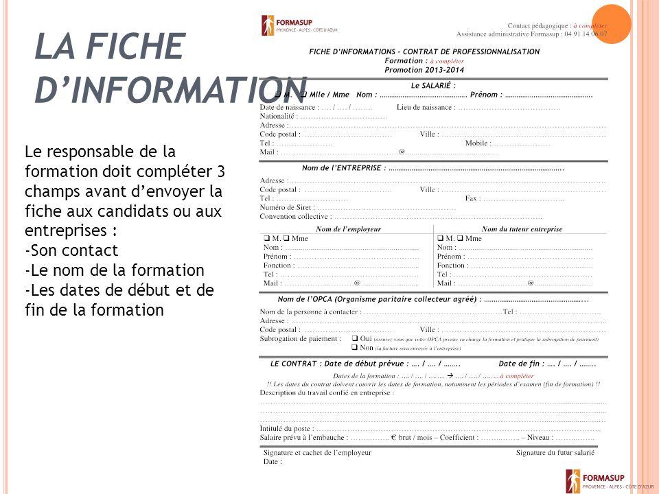 Vademecum Contrat De Professionnalisation Sommaire Le Contrat De