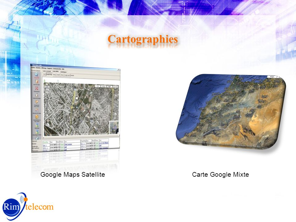 Carte Google MixteGoogle Maps Satellite