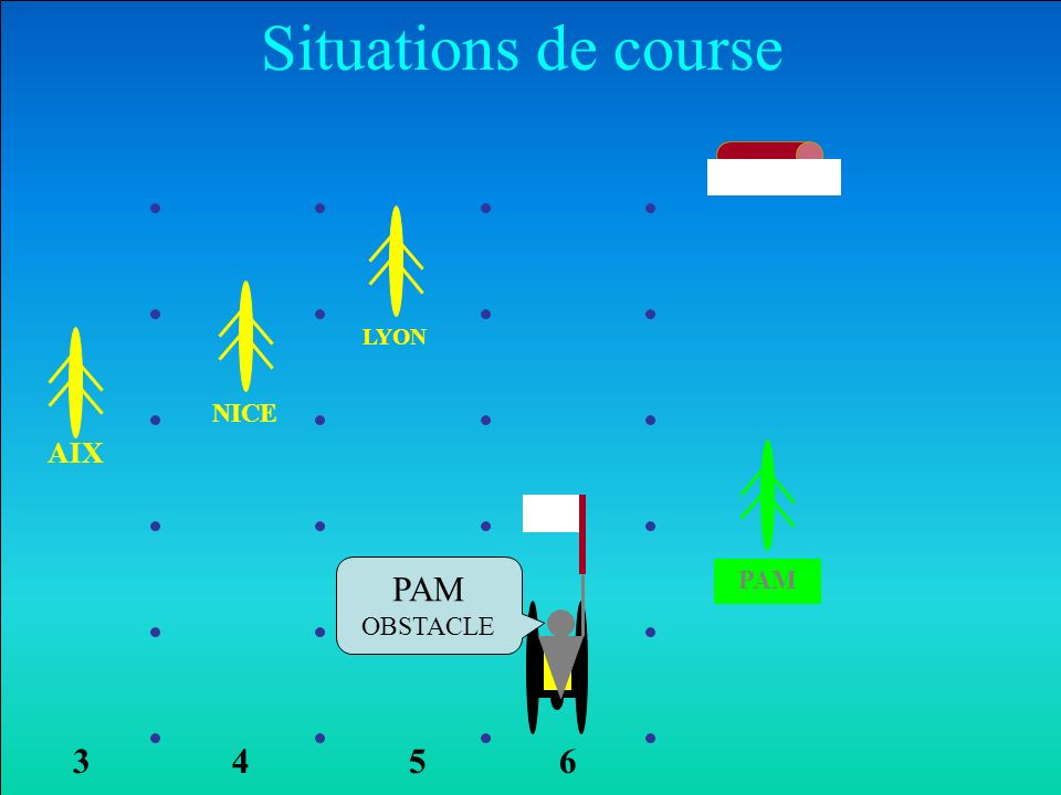 NICE AIX LYON PAM Situations de course 6354 PAM OBSTACLE